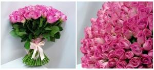 СУПЕР предложение по короткой розе 40 см