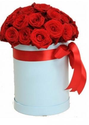 Купить Шляпную коробку с цветами: