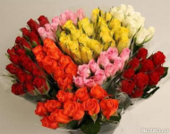 Роза 40 см , в ассортименте